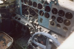 30.09.2004 gli interni depredati - Foto IHAP