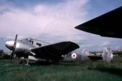 Accantonato a Guidonia prima che sparissero motori ed eliche - Foto Archivio IHAP