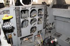 Cockpit posteriore MB 326 - Foto IHAP