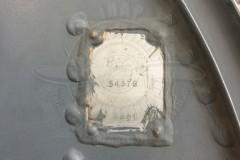 Targhetta identificativa MB 326 - Foto IHAP