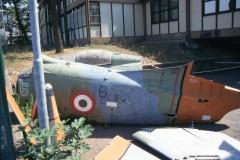 13.09.2000 Il velivolo smontato all'Istituto De Pinedo - Foto IHAP