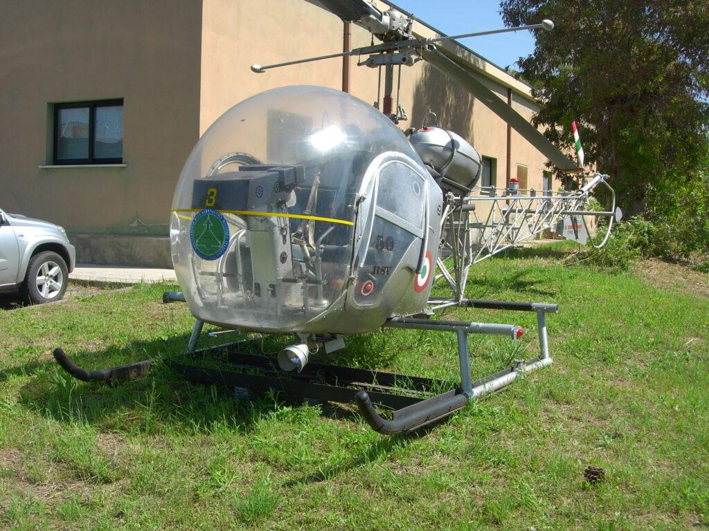 Radiato dal Reparto Sperimentale di Volo, ultimo Reparto ad averlo in linea dopo la Scuola Elicotteri di Frosinone, è ancora oggi conservato presso il Reparto in discrete condizioni.