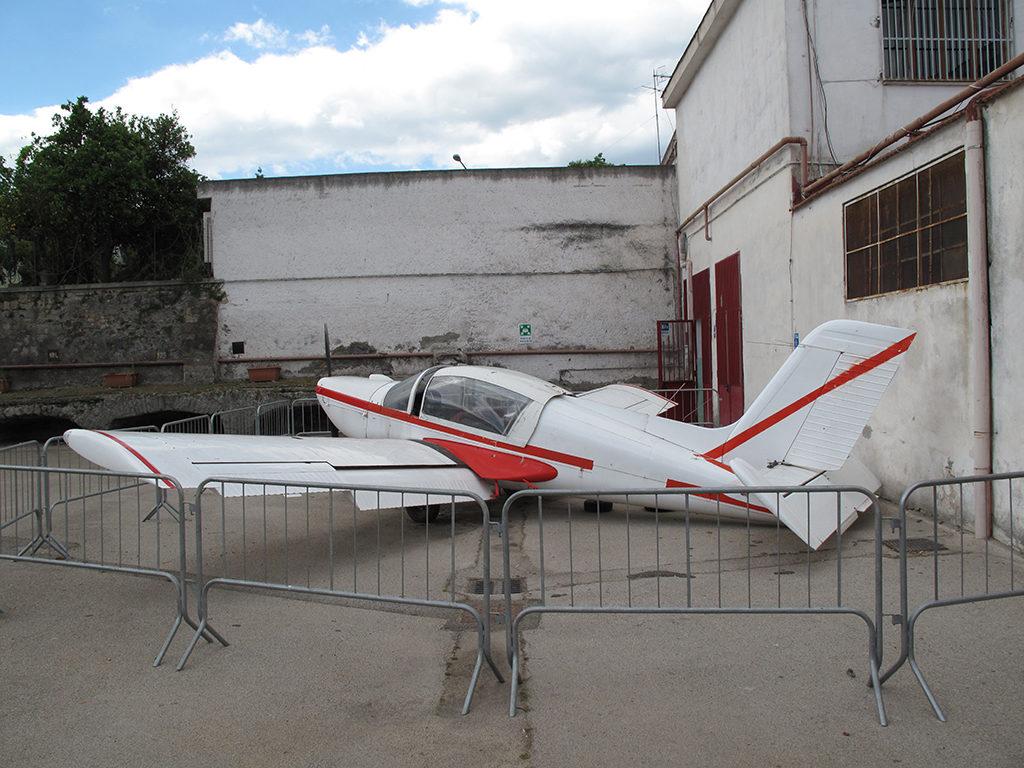 Socata Rallye MS 880 all'Istituto Majorana di Somma Vesuviana