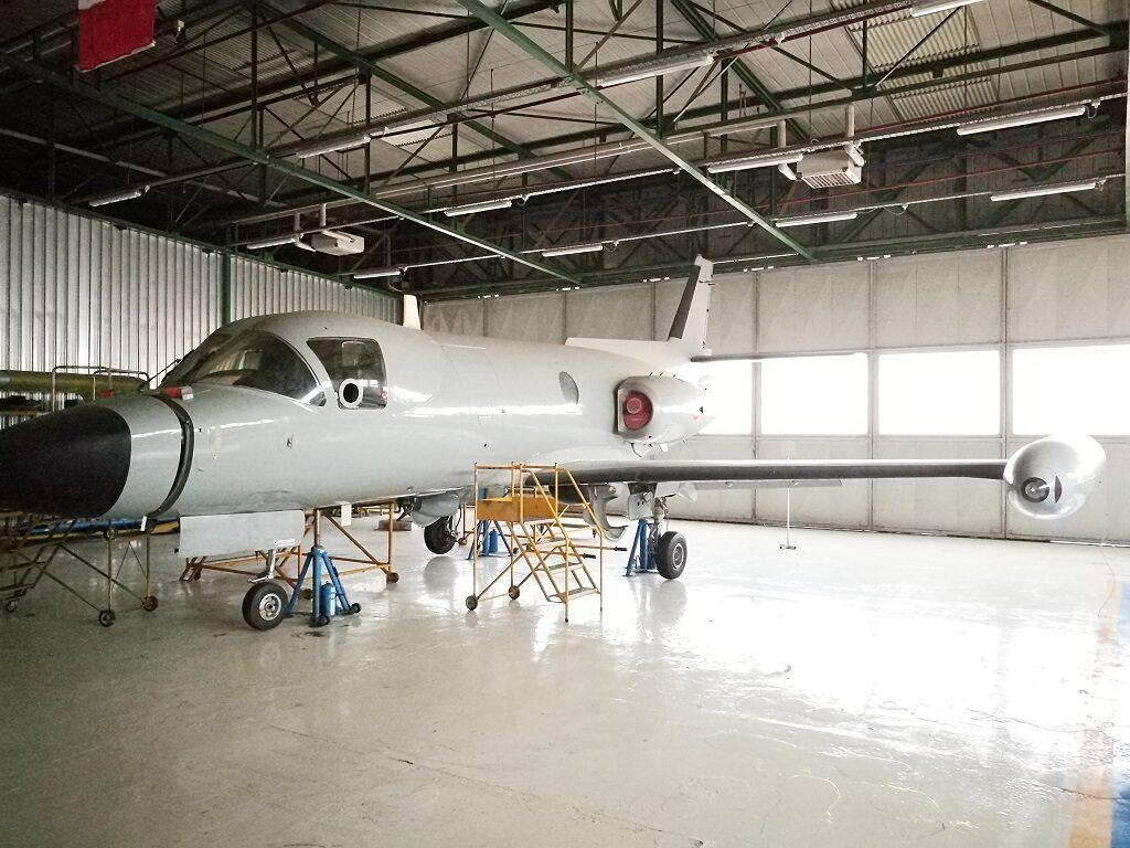 Il velivolo in questione ha la MM 61962 ed il numero di costruzione 519. Si tratta di uno degli 8 PD 808 da guerra elettronica entrati in servizio con il 71° Gruppo del 14° Stormo dell' Aeronautica Militare a Pratica di Mare