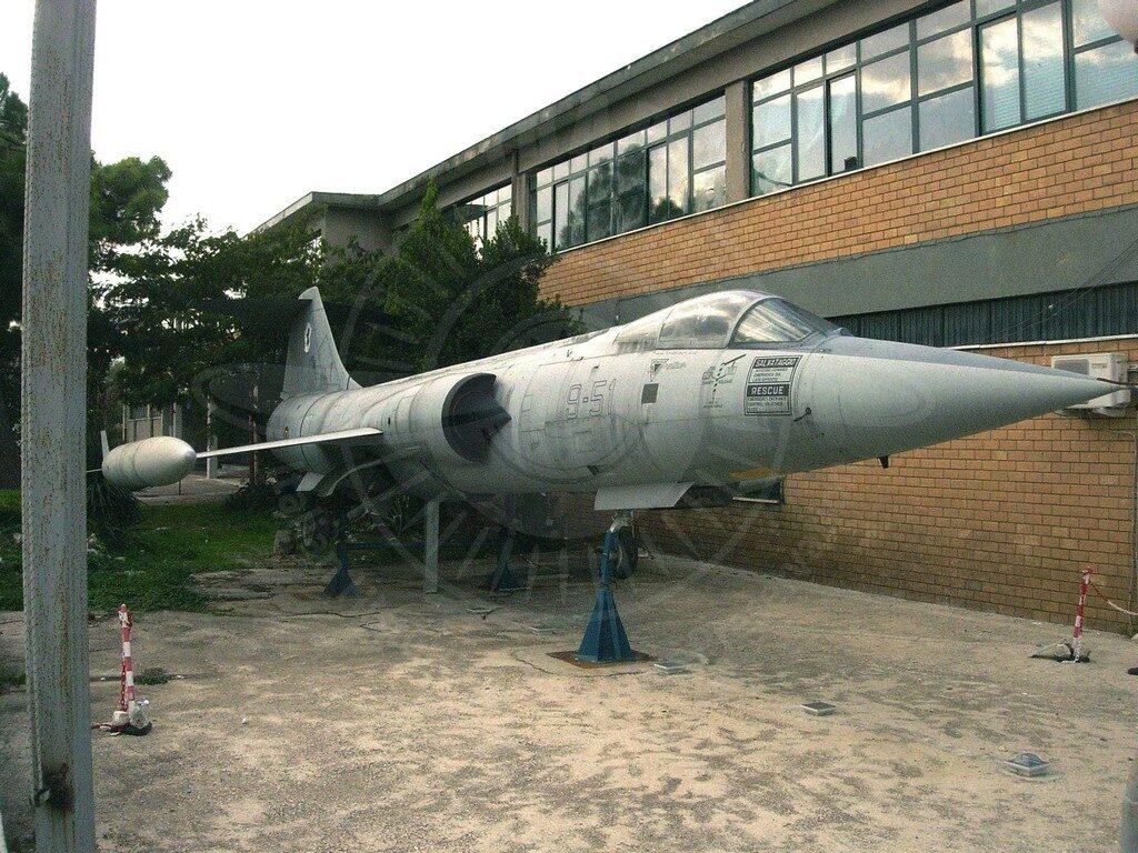 Alenia Lockheed F 104S ASA/M MM 6737 a Vairano Patenora (CE)