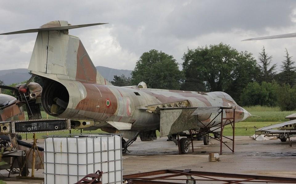 Aeritalia Lockheed F 104S ASA a Ceprano