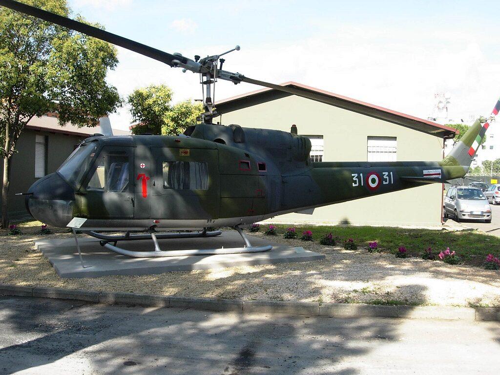 Agusta Bell AB 204B MM 80278: viene recuperato nel 2003 dal comando del 31° Stormo presso il Deposito AM di Gallarate