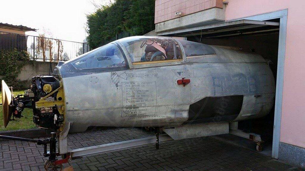 Cockpit F 104 a Milano