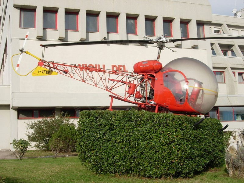 Agusta Bell AB 47G3-B1 dei Vigili del Fuoco