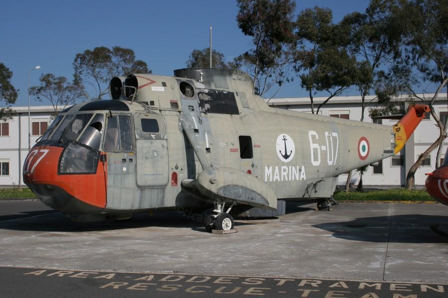 Agusta Sikorsky SH 3D fuori uso a MARISTAELI Catania