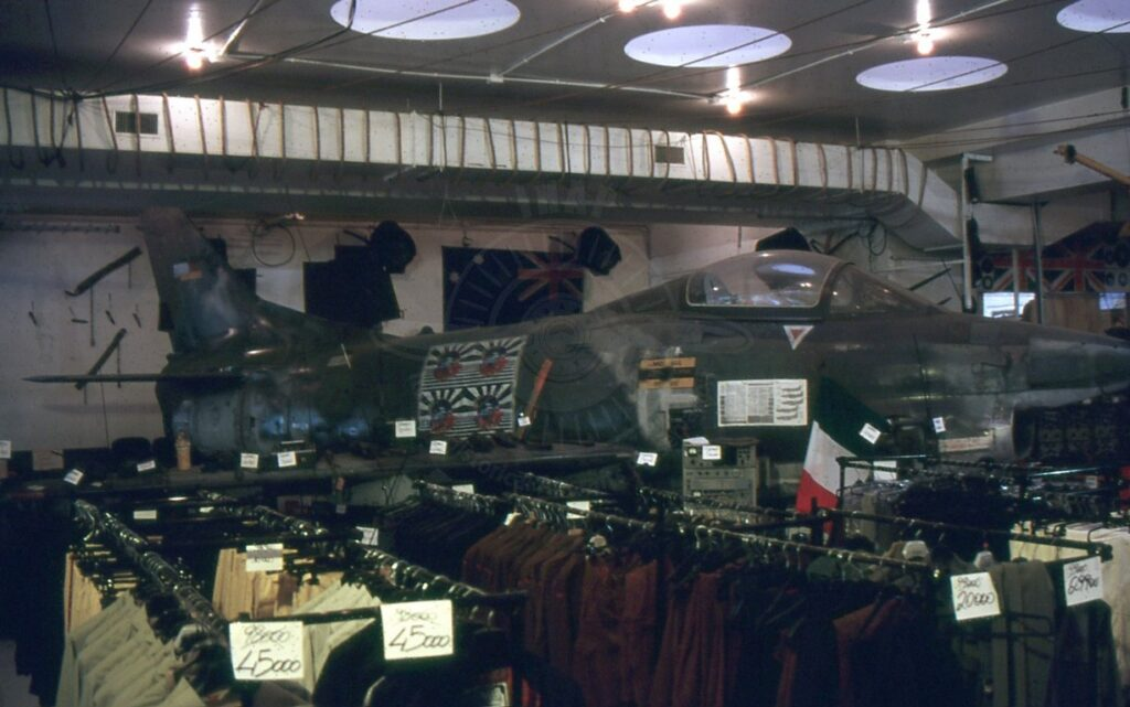 FIAT G 91R-3 ex Luftwaffe a Roma