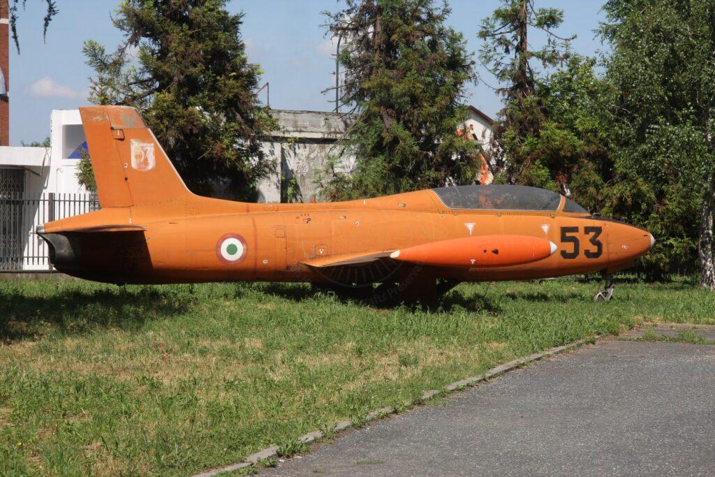 Aermacchi MB 326 MM 54177 a Torino