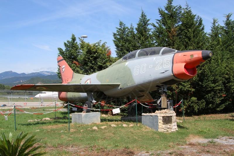 FIAT G 91T-1 MM 6326 fotografato a Villanova d'Albenga