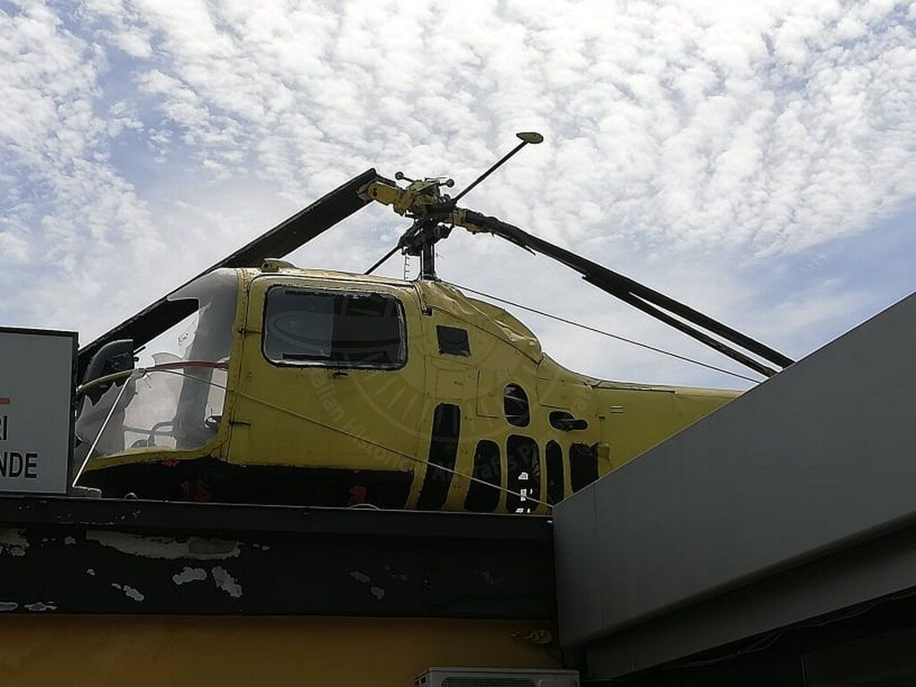 Agusta Bell AB 47J a Isola Liri (FR)
