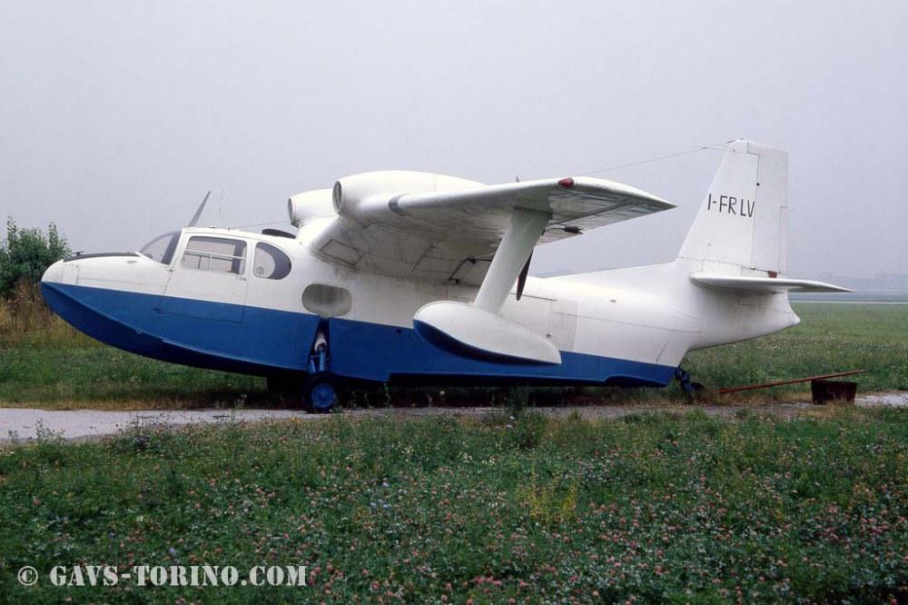 Piaggio P 136L-1 in restauro presso il GAVS Torino
