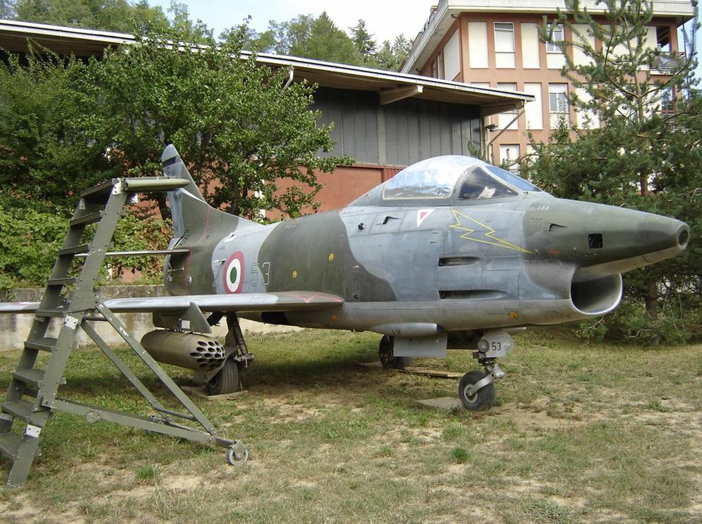 FIAT G 91R-1B a Millesimo (SV) presso un privato