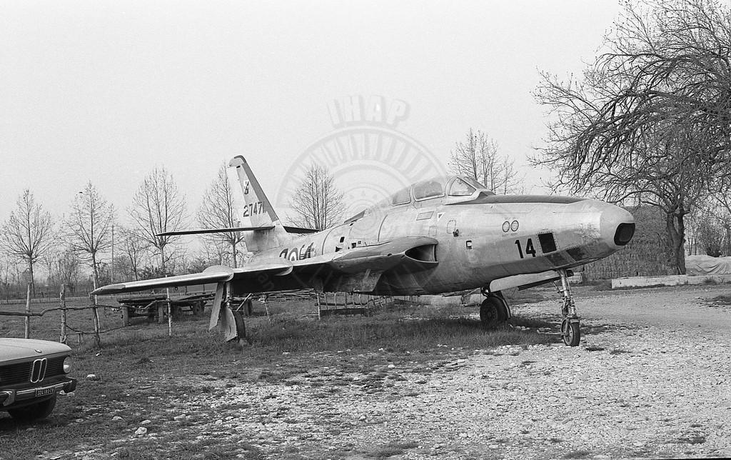 Republic RF-84F a Spresiano (TV)