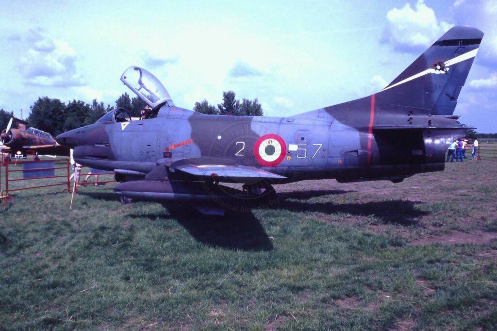 FIAT G 91R-1A con MM 6305
