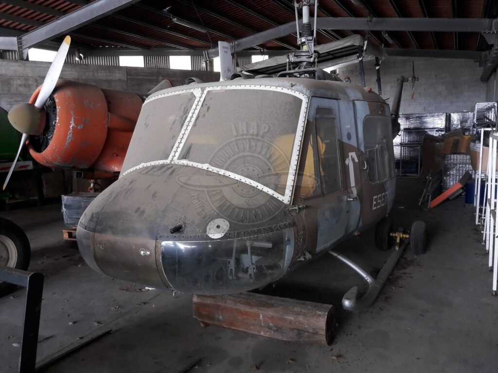 Agusta Bell AB 204B a Cassano Magnago