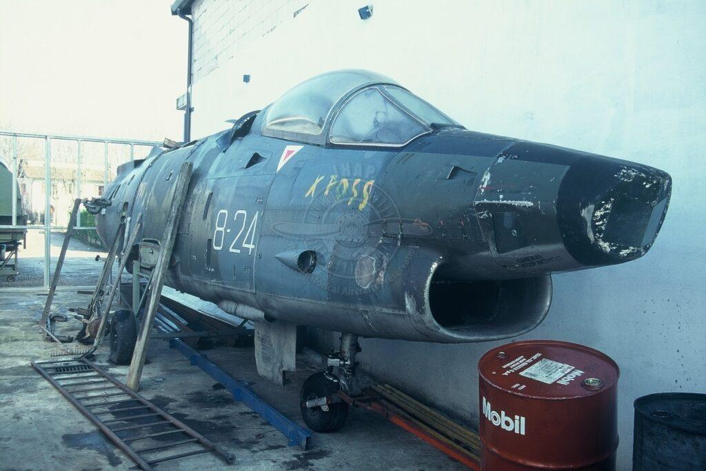 Aeritalia G 91Y a San Possidonio