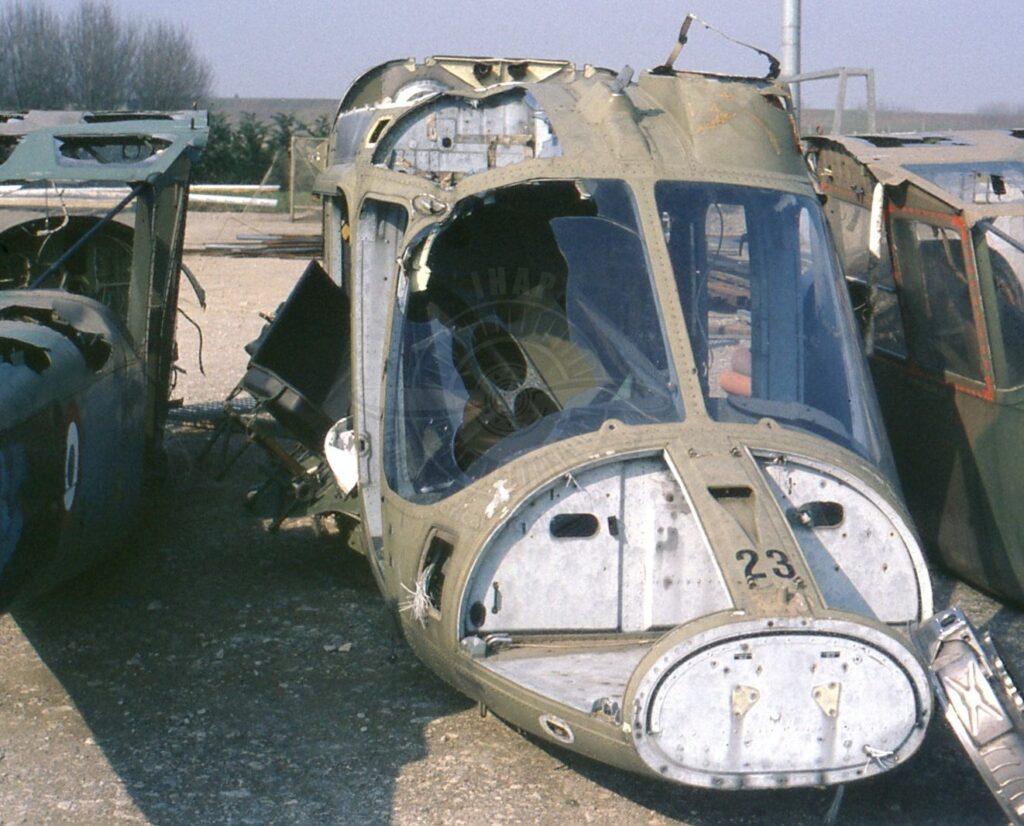 Un rarissimo Agusta A 109EOA dell'Esercito Italiano a San Possidonio