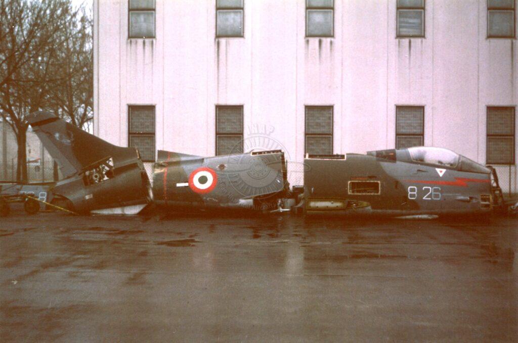 Aeritalia G 91Y MM 6466