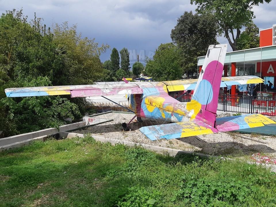 Partenavia P 64 a Roma EUR presso LUNEUR