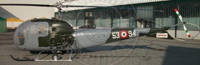 Agusta Bell AB 47J a Oné di Fonte (TV)