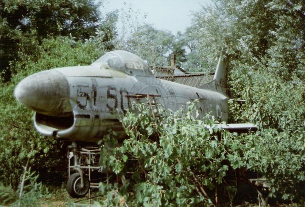 FIAT North American F 86K vicino Padova