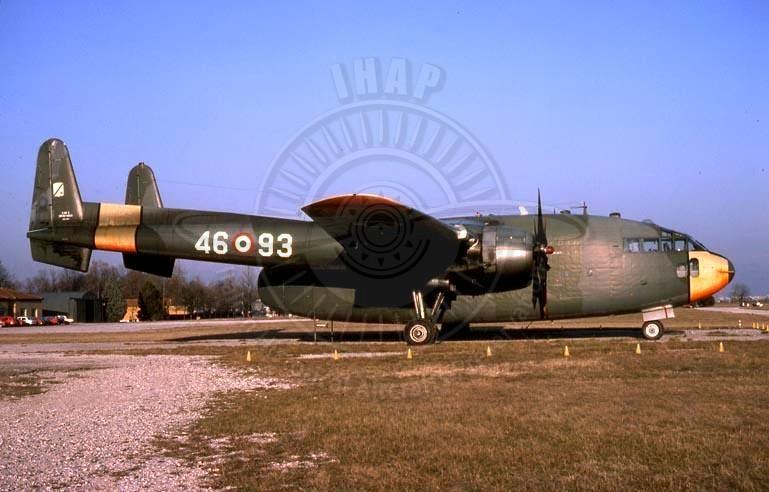 Fairchild C 119G a Campoformido