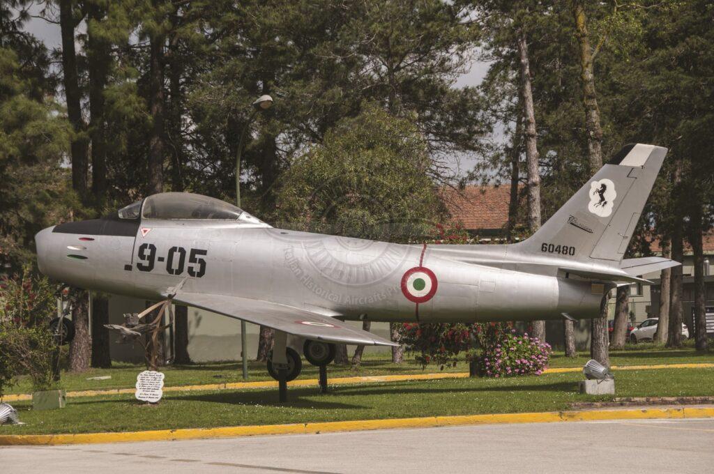 Canadair CL.13 Sabre E(M) a Grazzanise