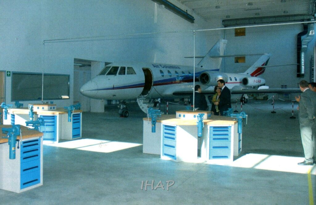 Il Centro Addestramento nasce da un accordo di cooperazione del 2008
