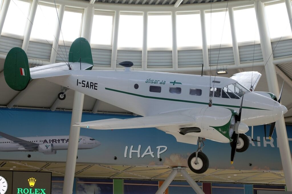 Beechcraft C 45F ex Alisarda a Olbia