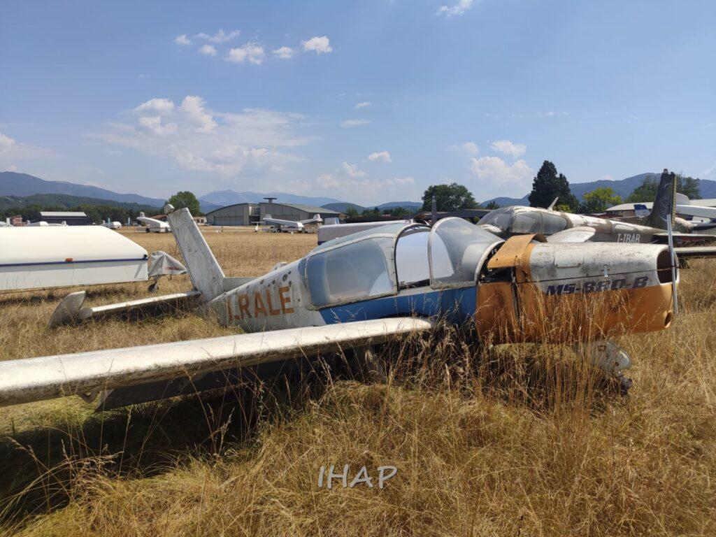 Morane Saulnier MS 880B I-RALE a Rieti