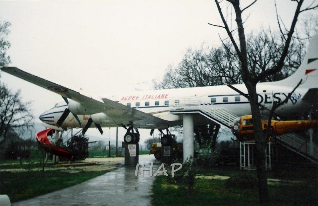 Douglas DC 6B a Cingoli (MC)